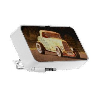 32 Ford Hot Rod roadster iPod Speakers