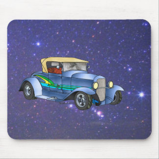 32 Ford Roadster on a Space Odyssey Mouse Pad