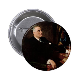32 Franklin D. Roosevelt Pinback Button