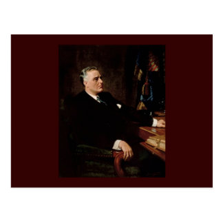 32 Franklin D. Roosevelt Postcard