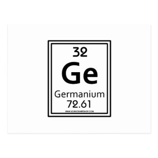 32 Germanium Postcard