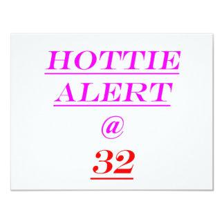 32 Hottie Alert Card