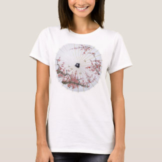 32-Inch-Patterned-Rice-Paper-Parasol-Cherry-Blosso T-Shirt