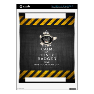 [32] Keep Calm or Honey Badger… Decals For Xbox 360