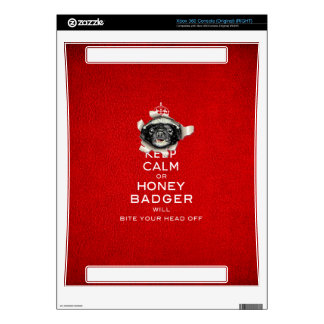 [32] Keep Calm or Honey Badger… Skin For The Xbox 360