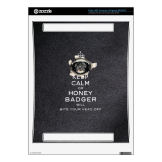 [32] Keep Calm or Honey Badger… Xbox 360 Console Skin