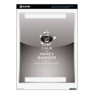 [32] Keep Calm or Honey Badger… Xbox 360 Console Skins