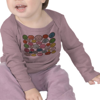 32 Movable Baby Faces Fully Customizable T-shirts