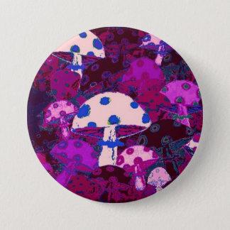 32 Mushrooms #14 Pinback Button