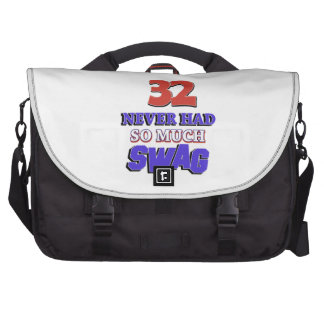 32 never had so much swag commuter bags