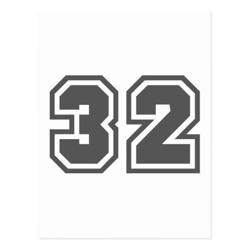 32 TARJETAS POSTALES