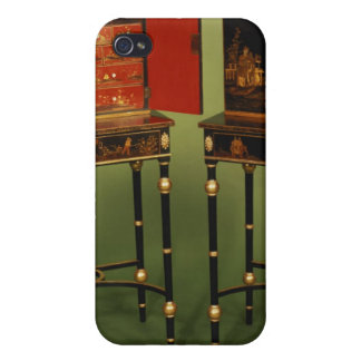 32:Two Chinoiserie cabinets, c.1770 Case For iPhone 4