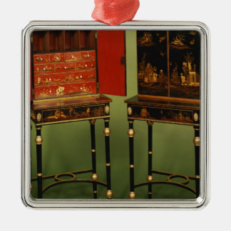 32:Two Chinoiserie cabinets, c.1770 Metal Ornament