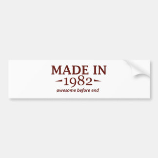 32 year old birthday designs and gifts bumper stickers