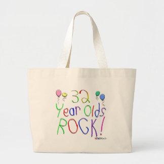 32 Year Olds Rock! Tote Bag Jumbo Tote Bag