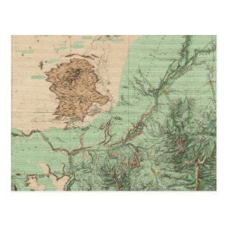 32C Land Classification Map Postcard