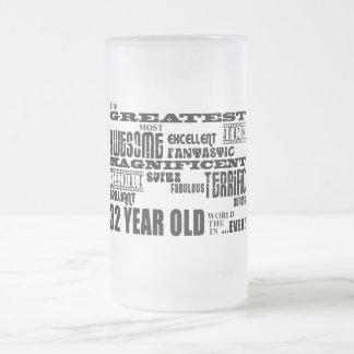 32do Años más grandes de la fiesta de cumpleaños l Taza Cristal Mate