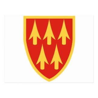 32do Comando de la defensa aérea del ejército Tarjeta Postal
