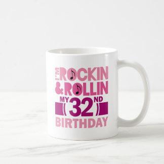 32do Idea del regalo de cumpleaños para la hembra Taza