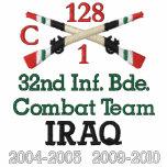 32do Inf. Bde. Camisa cruzada equipo de combate de
