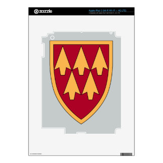 32nd Air & Missile Defense Command Decals For iPad 3