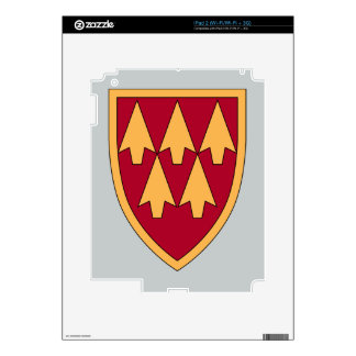 32nd Air & Missile Defense Command Decals For The iPad 2