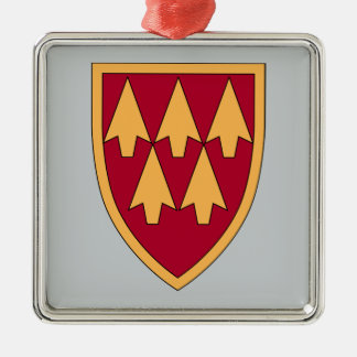 32nd Air & Missile Defense Command Metal Ornament