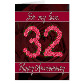 31st Wedding Anniversary Gift For Husband : 32nd Wedding Anniversary T-Shirts, 32nd Anniversary Gifts