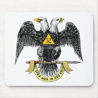 32nd Degree Scottish Rite Black Eagle Mouse Pad