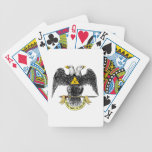 32nd Degree Scottish Rite Black Eagle Playing Cards