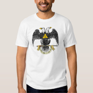 32nd Degree Scottish Rite Black Eagle T-shirts