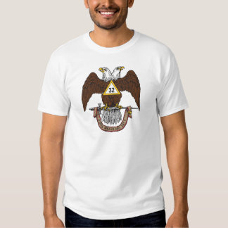 32nd Degree Scottish Rite Brown Eagle T Shirts
