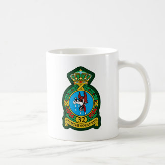 32nd (Tactical) Fighter Squadron Wolfhounds Coffee Mug