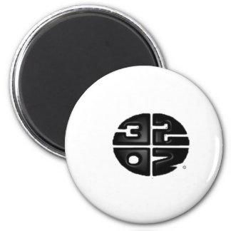 32oz 2 inch round magnet