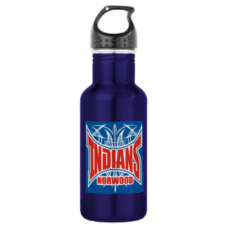 32oz Indians Water Bottle