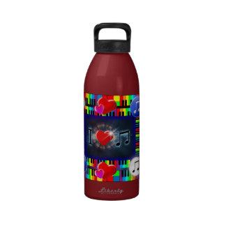 32oz Music Love Liberty Bottle Drinking Bottles