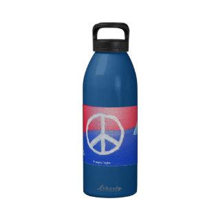32oz Peace Waterbottle! Water Bottle