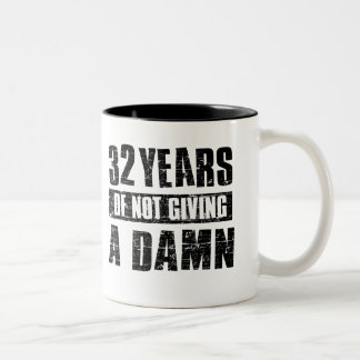 32years Two-Tone coffee mug