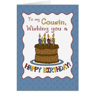 3302 Cousin Birthday Card
