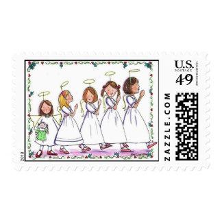 330 Angel Parade Stamp