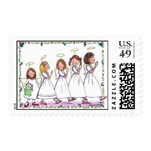 330 Angel Parade Postage Stamp