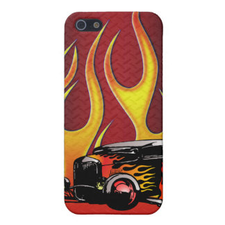 330 Hot Rod Color Variante 2 Cover For iPhone SE/5/5s