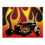 330 Hot Rod Color Variante 2 Post Card