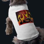 "330 Hot Rod Color Variante 2 T-Shirt<br><div class=""desc"">Pet Clothing - Ringer</div>"