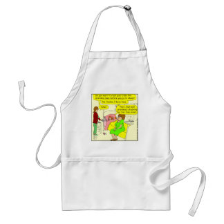 330 read bible Cartoon Adult Apron