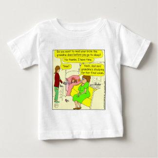 330 read bible Cartoon Baby T-Shirt