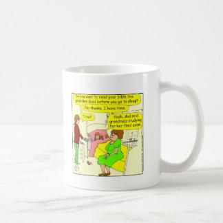 330 read bible Cartoon Coffee Mug
