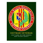 330th RRC 2 - ASA Vietnam Postcard