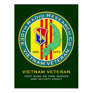 330th RRC - ASA Vietnam Postcard
