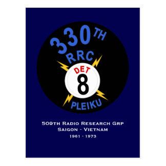 330th RRC Det 8 Postcard